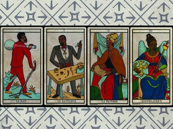 King Khan Black Power Tarot