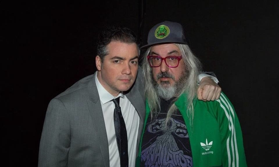 Kevin Corrigan and J Mascis
