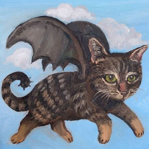 Bat cat by Phil Musen