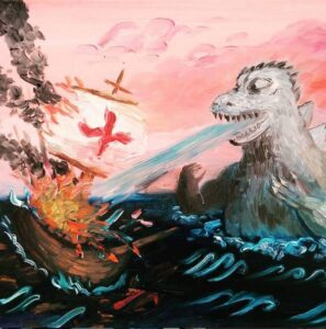 Godzilla destruction Phil Musen