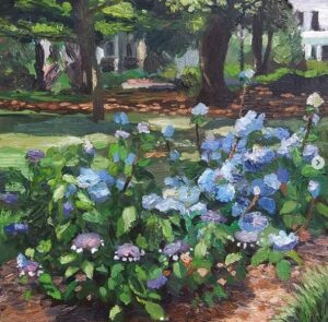 Hydrangeas in the Park Phil Musen