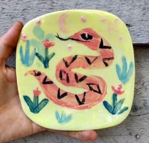 Snake plate Phil Musen