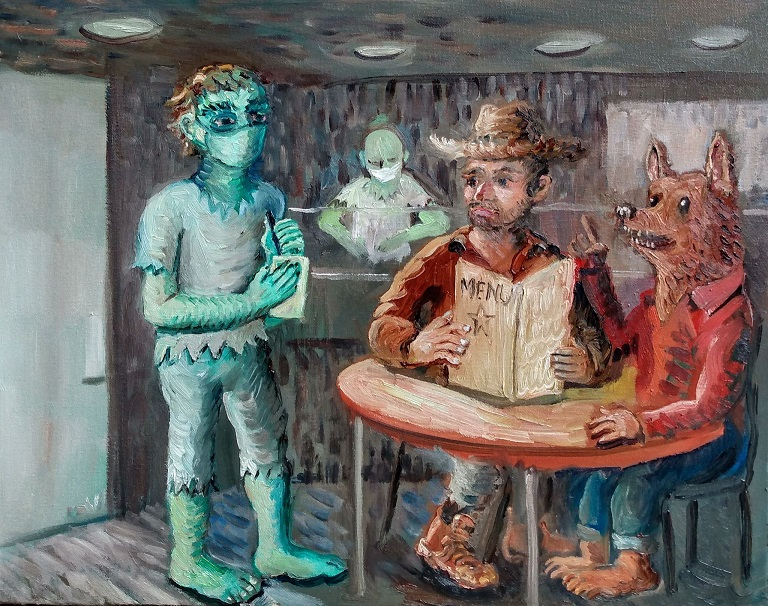 Zombie Wolfboy restaurant by Phil Musen